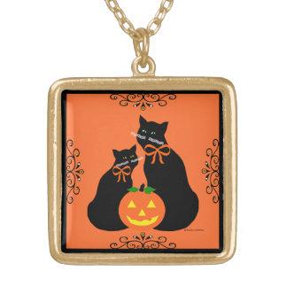 """Dark Sisters"" Halloween Necklace"