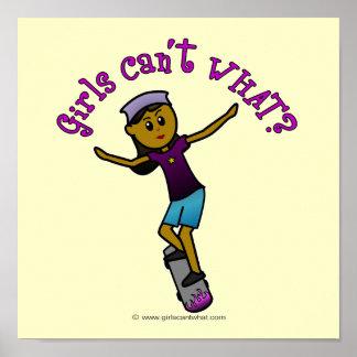 Dark Skateboarder Posters