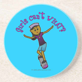 Dark Skater Girl Coaster