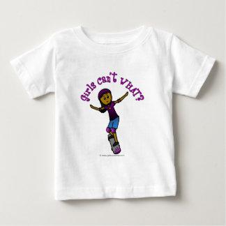Dark Skater with Helmet Baby T-Shirt