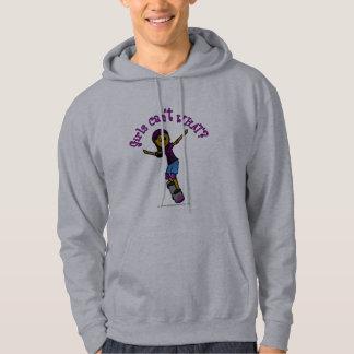 Dark Skater with Helmet Hoodie