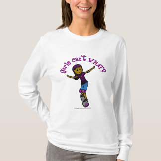 Dark Skater with Helmet T-Shirt