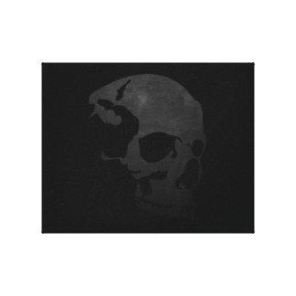 dark Skull canvas Canvas Print