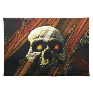 Dark Skull Placemat