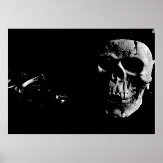 Dark Skull Print