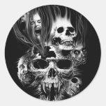 Dark Skull Stickers