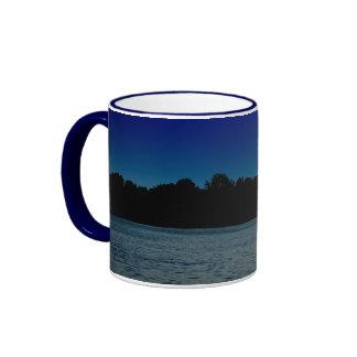 Dark Sky on the Lake Mugs