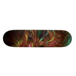Dark Smudge Fractal Skate Boards