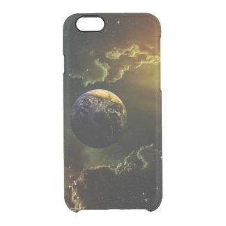 Dark Space Scene Clear iPhone 6/6S Case