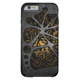 Dark steampunk cogwheel gears chassis tough iPhone 6 case