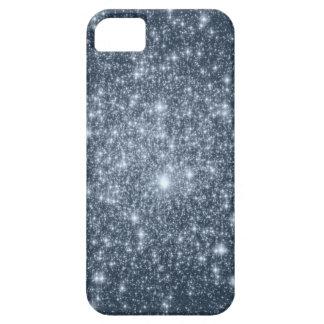Dark Steel Blue Stars iPhone 5 Cover