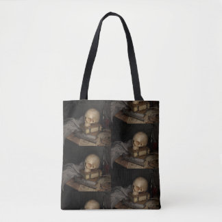 Dark still life bag