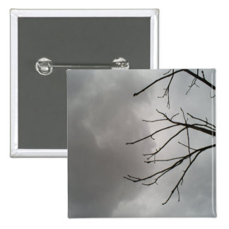 Dark Storm Clouds Pin
