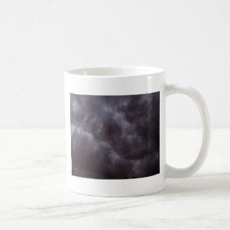 Dark Storm Clouds Basic White Mug
