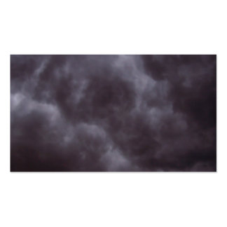 Dark Storm Clouds Pack Of Standard Business Cards