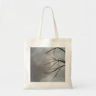 Dark Storm Clouds Canvas Bag