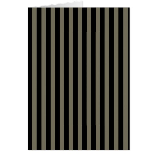 Dark Stripes Card
