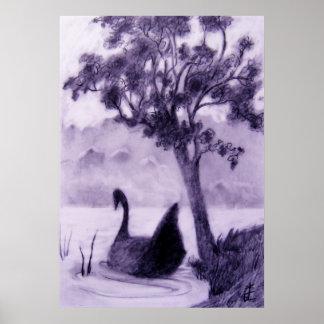 """""""Dark Swan"""" Poster"""