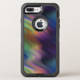 Dark Swirling Rainbow of Color OtterBox Defender iPhone 8 Plus/7 Plus Case