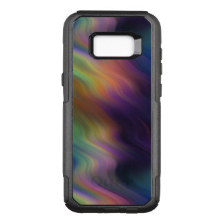 Dark Swirling Rainbow of Colors OtterBox Commuter Samsung Galaxy S8+ Case