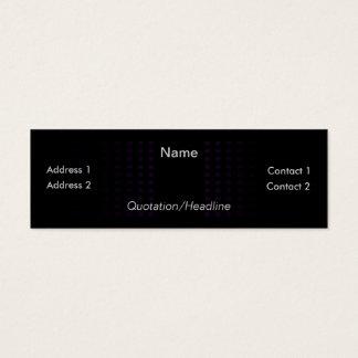Dark Synergy Mini Business Card