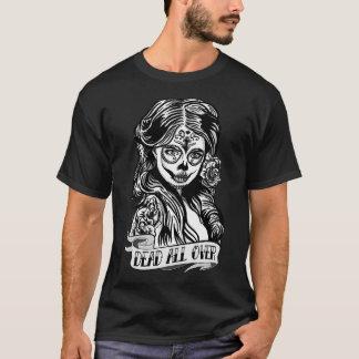 Dark t-shirt Skull Mexicana Dead All Over