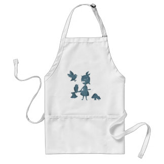 Dark Tales Axe Girl and Crows Standard Apron