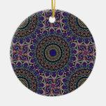 Dark Tapestry Tiled Kaleido Pattern