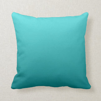 """Dark Teal Ombre"" Cushion"