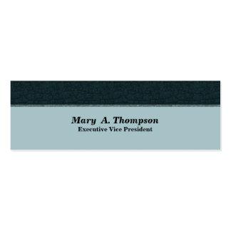 Dark Teal Texture Business Card Templates