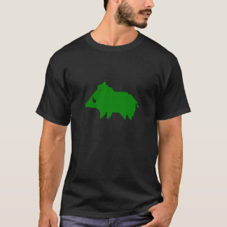 Dark tee-shirt - Wild boar a HEAT IN ADVANCE T-Shirt