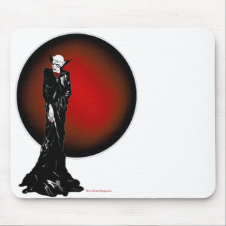 Dark Thoughts Illustration Mouse Pad