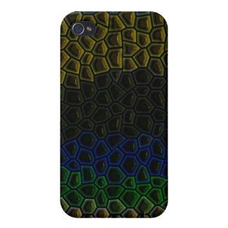 Dark tile pern iPhone 4 cover