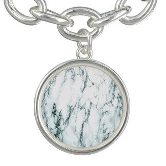 Dark Turquoise Vein Marble Look