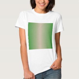 Dark Vanilla and Forest Green Gradient T-Shirt