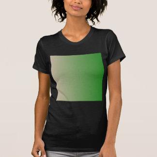 Dark Vanilla to Forest Green Vertical Gradient T Shirts
