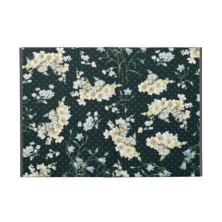 Dark vintage flower wallpaper pattern iPad mini cover