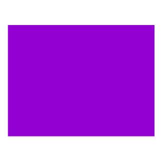 Dark Violet Color Background Postcard