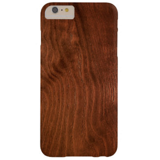 Dark Walnut Plywood iPhone 6 Case Barely There iPhone 6 Plus Case