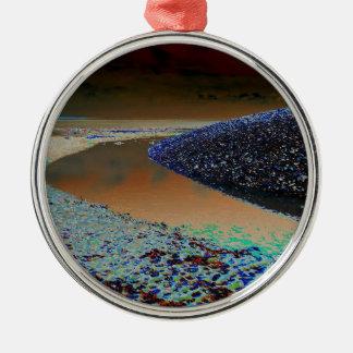 Dark Water Christmas Ornament