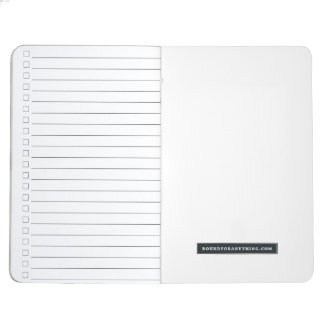 DARK WATER pocket notebook