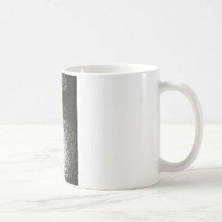 Dark Water waves Drops Crystal Clear Fine glass ti Basic White Mug