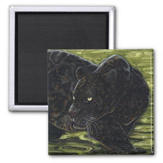 Dark Waters - Black Panther Square Magnet