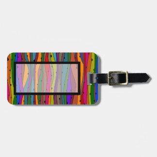 Dark Waves Luggage Tag