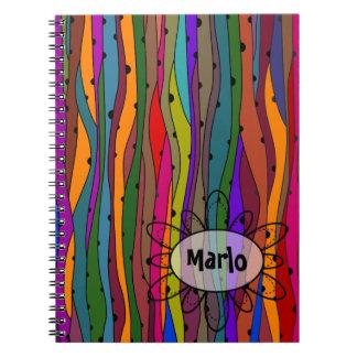 Dark Waves Notebook