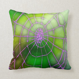 Dark Web Throw Cushion