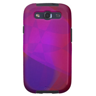 Dark Wine Simple Abstract Composition Galaxy SIII Case