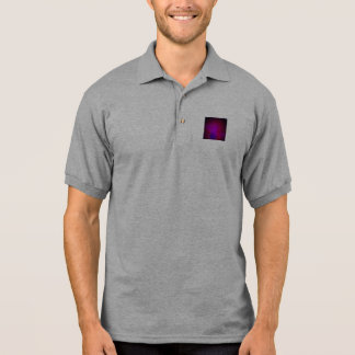 Dark Wine Simple Abstract Composition Polo T-shirts