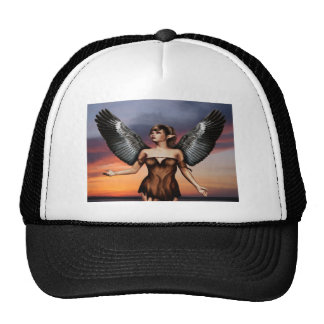 Dark Wing Angel Cap
