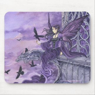 Dark Wing Fairy and Ravens mousepad